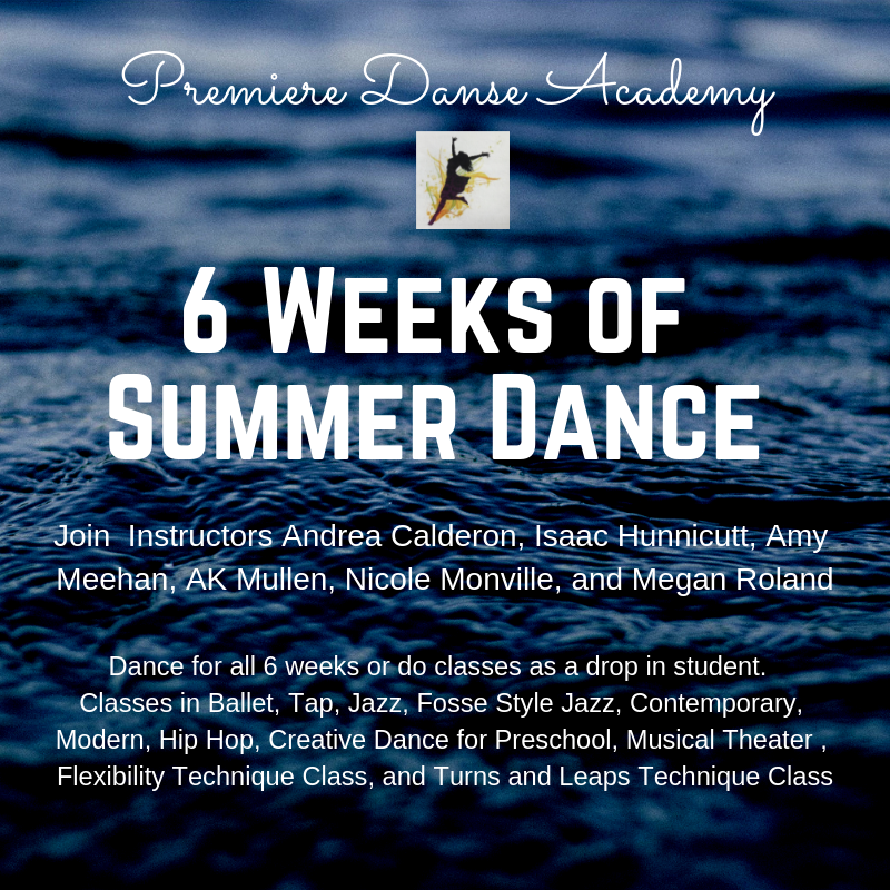 Summer Dance 2019 Summer Registration